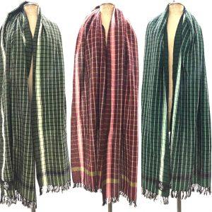 khadi handspin & woven shawl